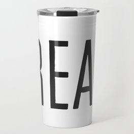 Cream Travel Mug