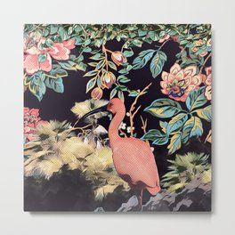 The red ibis Metal Print
