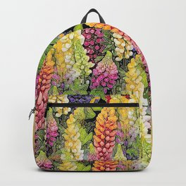 Lupine thickets Backpack