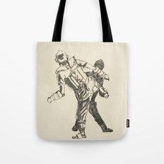 Tae Kwon Do Sparring Tote Bag