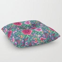 SPANISH ROSE Floor Pillow