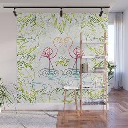 KissMe Wall Mural