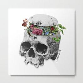 Deadly Alive Metal Print