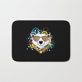 Hip-Hop Polar Bear Bath Mat