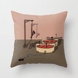 Tub Fallacy Throw Pillow