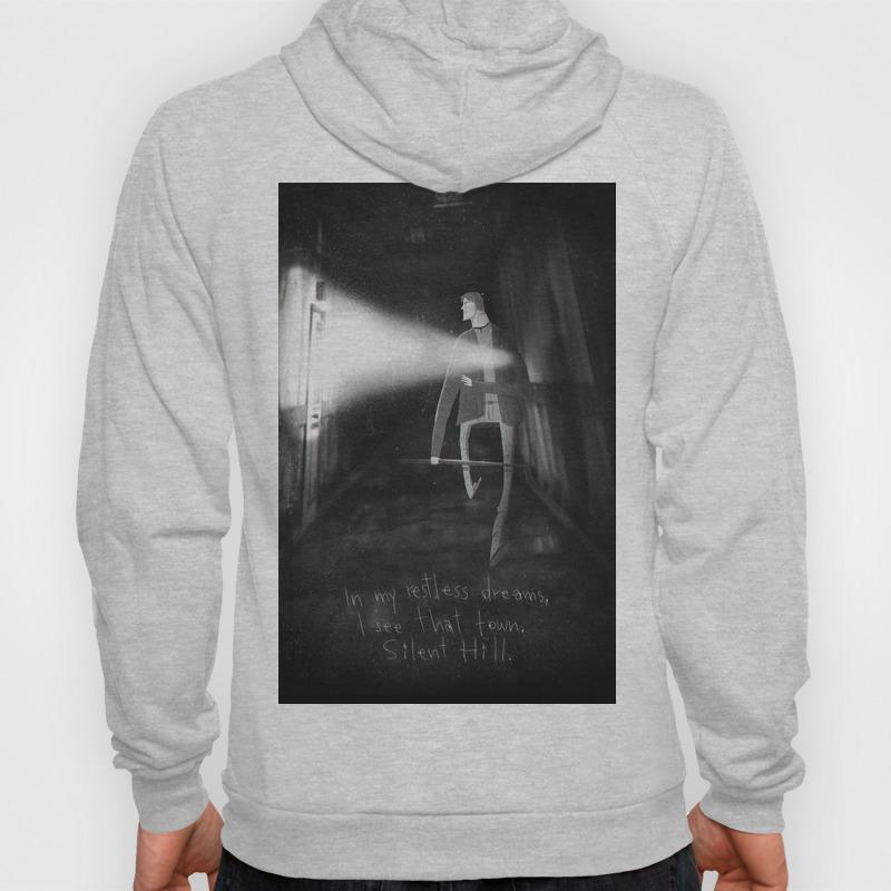 James Sunderland From Silent Hill 2 Hoody By Peerro Society6