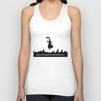 mary poppins Tank Tops featuring mary poppins by cubik rubik