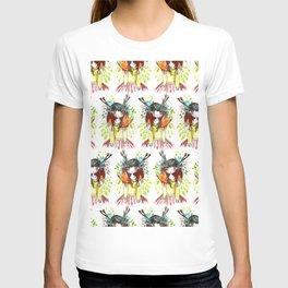 Girl and fox T-shirt