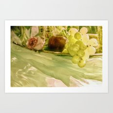 A touch of paradise Art Print