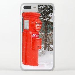 Hokkaido, with love Clear iPhone Case