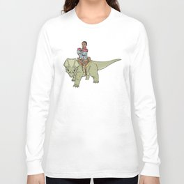 A Boy and his Dinosaur Long Sleeve T-shirt