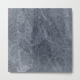 Ab Marb Blue Metal Print