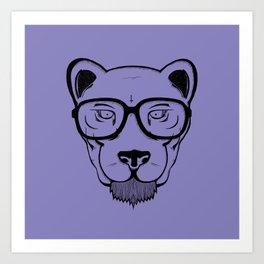 CAT X Panther Art Print