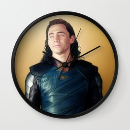 God of Mischief Wall Clock