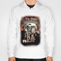rock n roll Hoodies featuring Rock 'N' Roll Circus by Melissa Morrison