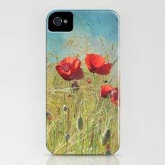 Fantasy poppies iPhone (4, 4s) Slim Case