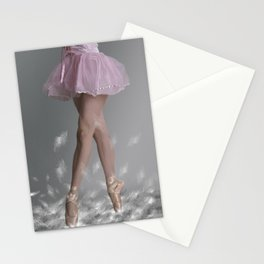 Walking on dreams Stationery Cards