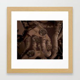 Radiactivity Framed Art Print