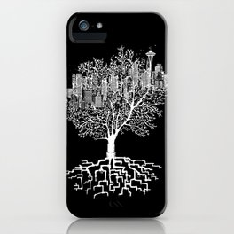 Seattle TreeHouse iPhone Case