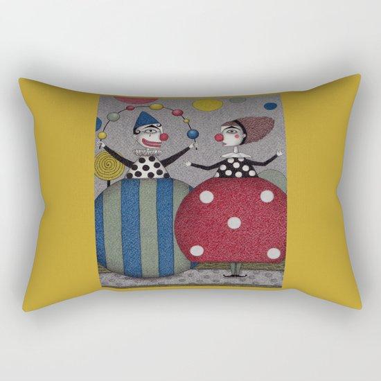 Ball Game (2) Rectangular Pillow