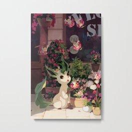 Leafeon Metal Print