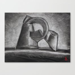 Empty Drink Canvas Print