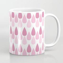 Pink drop pattern Coffee Mug