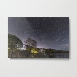 Star Trailing Metal Print