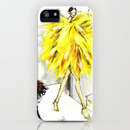 Yellow pop up #society6 iPhone Case