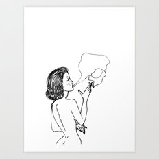 Simple Things Art Print