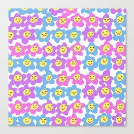 Flower Feelings Canvas Print