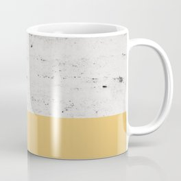 Summer Yellow on Concrete #1 #decor #art #society6 Coffee Mug