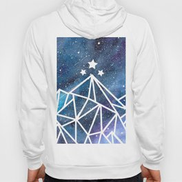 Watercolor galaxy Night Court - ACOTAR inspired Hoody
