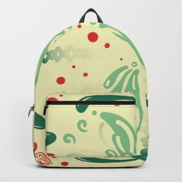 Pattern, wallpaper, forme, colori, flowers Backpack