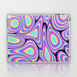 Digital Water Marble Painting #1 Laptop & iPad Skin