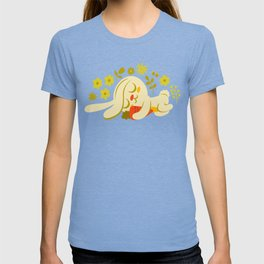 Sleeping Bunny and Carrot / Cute Animal T-shirt