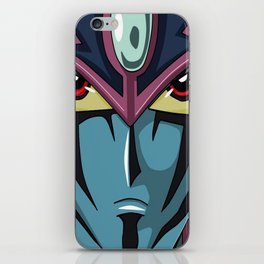 Magician of Black Chaos iPhone Skin