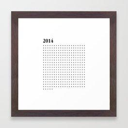 2014 BLACK CROSS Framed Art Print