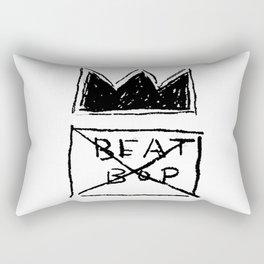 Basquiat Beat Bop Rectangular Pillow