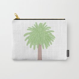 Minimalist Palm Tree Illustration Carry-All Pouch