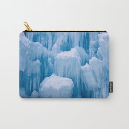 Beautiful Blue Icicles Carry-All Pouch