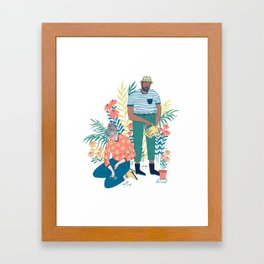 The Gardeners Framed Art Print
