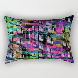 Tree Apartments Rectangular Pillow