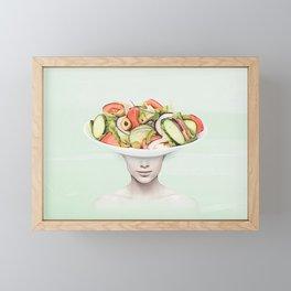 Salad Bowl Framed Mini Art Print