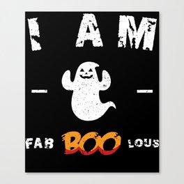 I am Fabboolous - Funny Halloween Canvas Print