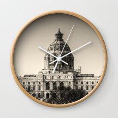 Minnesota Capitol Building Wall Clock
