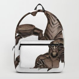Mythical Aqrabuamelu Girtablilu Akkadian Big Scorpion Monster Sting Backpack