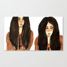 RUBIA Canvas Print