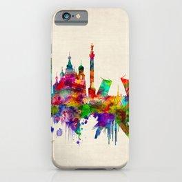 St. Petersburg Russia Skyline iPhone Case