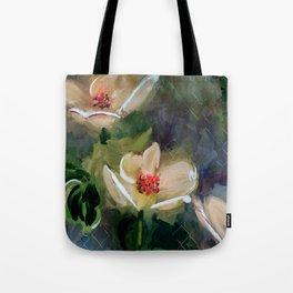 Night Blooming Dogwood Tote Bag